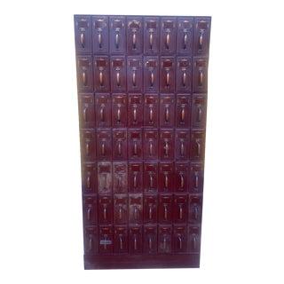 Vintage Industrial File Cabinet For Sale