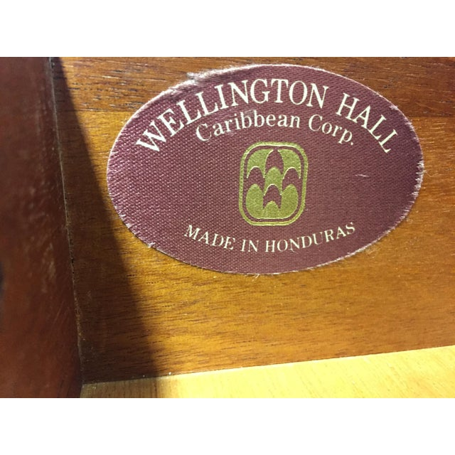 Wellington Hall Mahogany Chippendale Style Low Boy Chest - Image 7 of 11