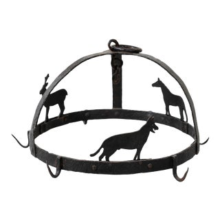 Antique Wrought Iron Butcher Hook For Sale