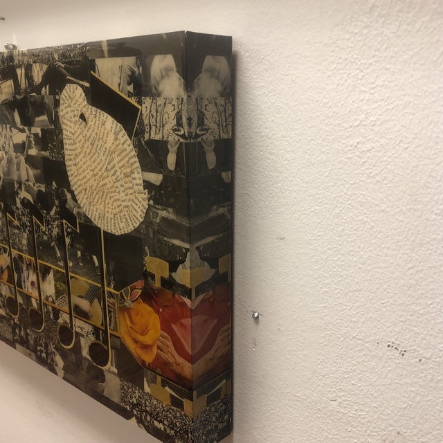 Contemporary Original Magazine Collage by Charla Steele For Sale - Image 3 of 13
