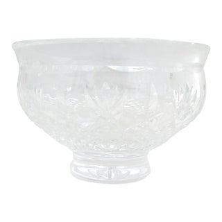 Waterford Signed Cut Crystal Bowl For Sale