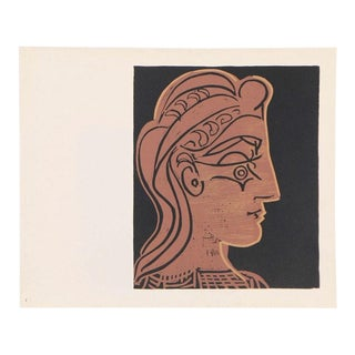 Pablo Picasso Vintage Print For Sale