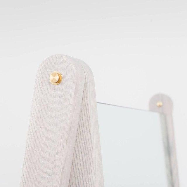 Asa Pingree Asa Pingree Libertine Full Length Mirror in Fog Gray Ash For Sale - Image 4 of 8