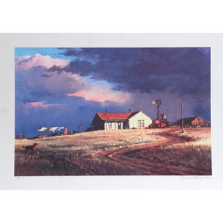 Duane Bryers, Rancher's Wife, Lithograph For Sale