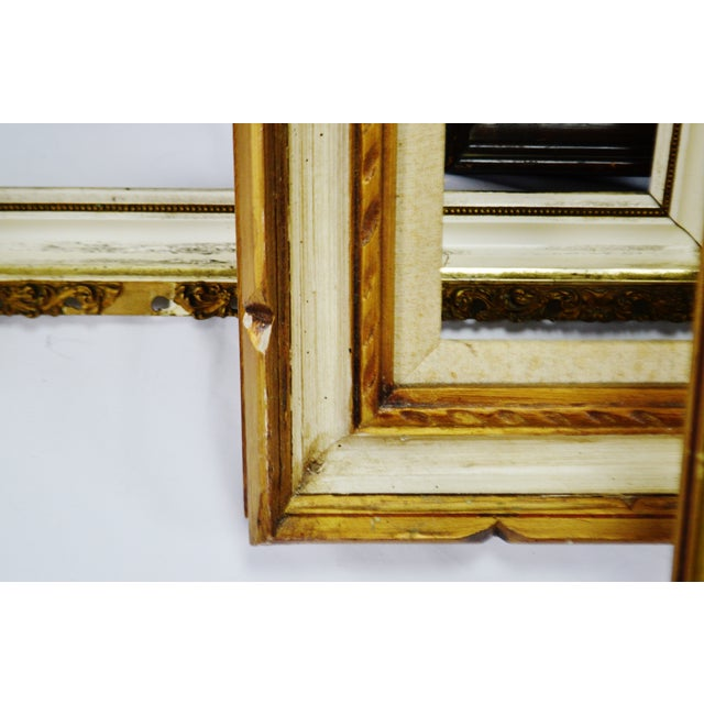 Vintage Medium Sized Wood Picture Frames - Group of 6 For Sale - Image 9 of 13