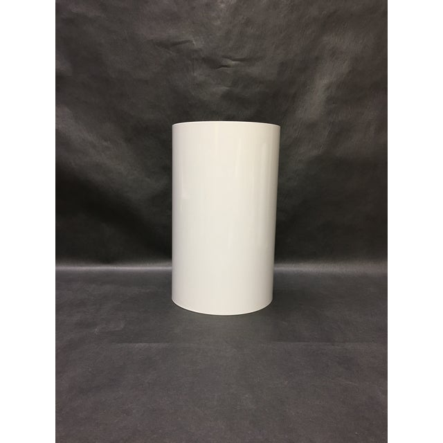 This 1980's era Ron Rezek wall sconce takes two bulbs so it washes the wall up and down. Very clean lines, perfect for...