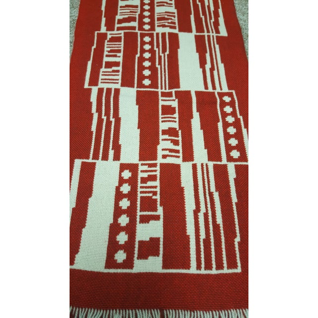 Folk Art Handmade Finnish Mid-Century Tapestry Wall Hanging For Sale - Image 3 of 7
