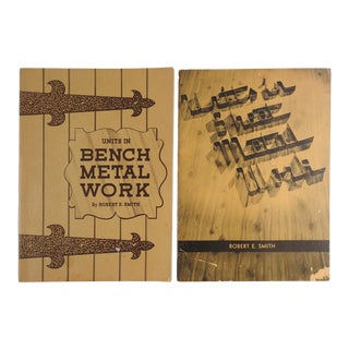 Metal Working Books - a Pair For Sale