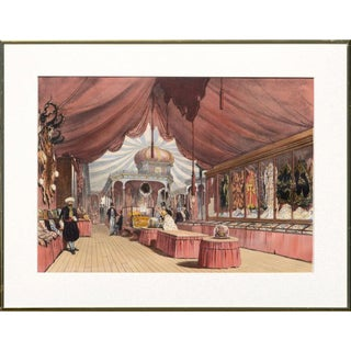 """Lowes Cato Dickinson Scene From """"Great Exhibition of 1851"""" London 1854 For Sale"""