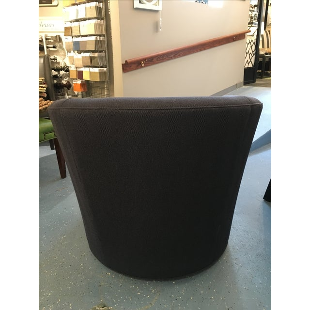 Modern CR Laine Ashland Swivel Chair For Sale - Image 3 of 9