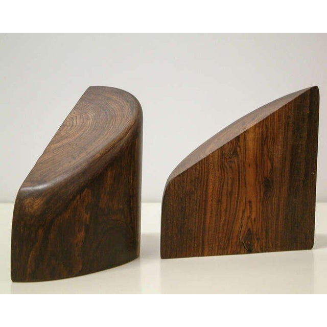 1960s Don Shoemaker Cocobolo Wood Bookends - a Pair For Sale In Richmond - Image 6 of 10
