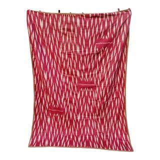 19th Century Vintage Turkish Ikat Textile For Sale
