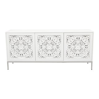 Jameson Buffet/Sideboard, White For Sale
