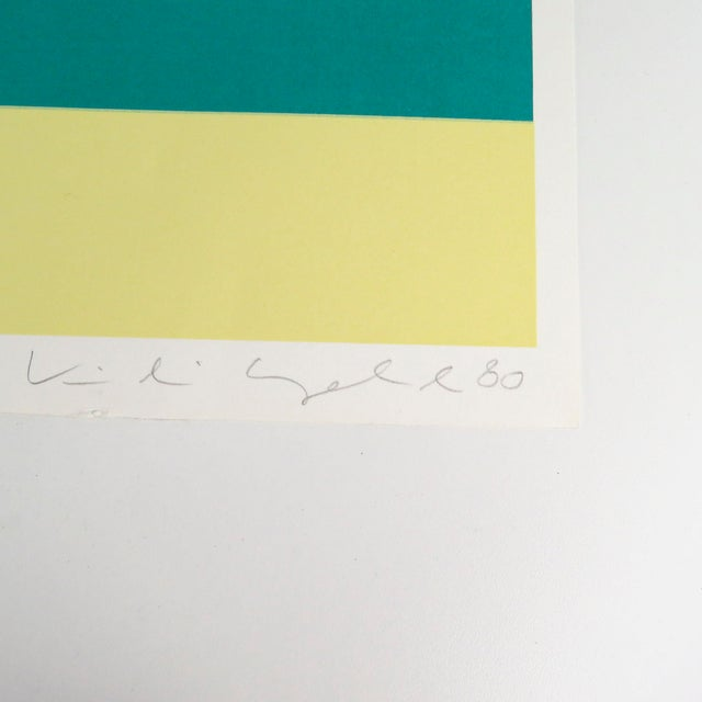 """1980s """"War Baby"""" Signed Numbered Serigraph Silkscreen Print by Kiki Kogelnik For Sale In Miami - Image 6 of 9"""