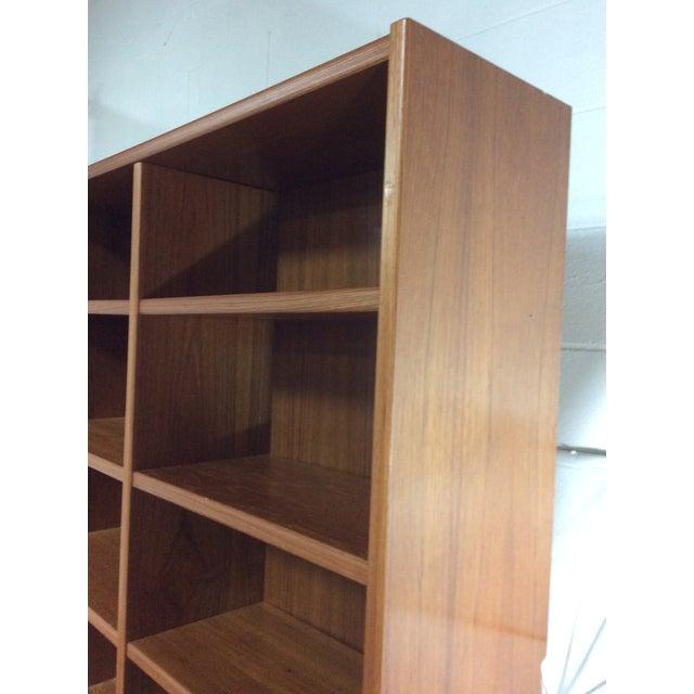 1970s Vintage Danish Modern Bookshelf For Sale
