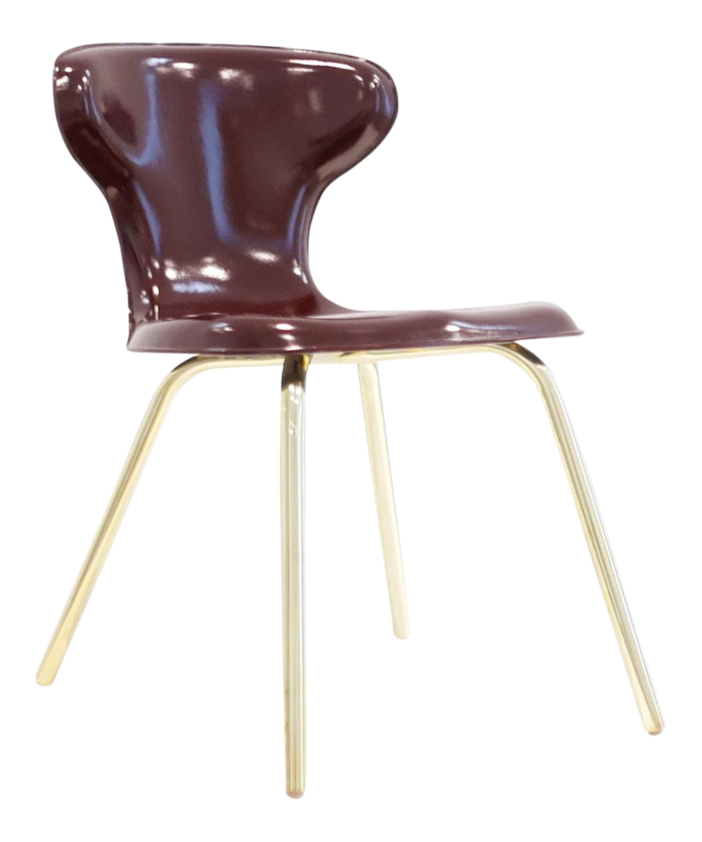 Egmont Arens, Fiberglass Chair, C. 1950   1959