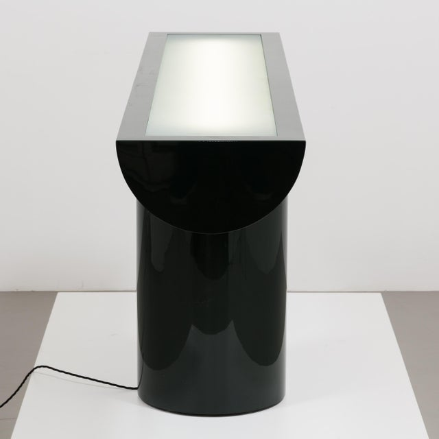 A Lacquered Cantilevered Console Lightbox 1970s - Image 3 of 10