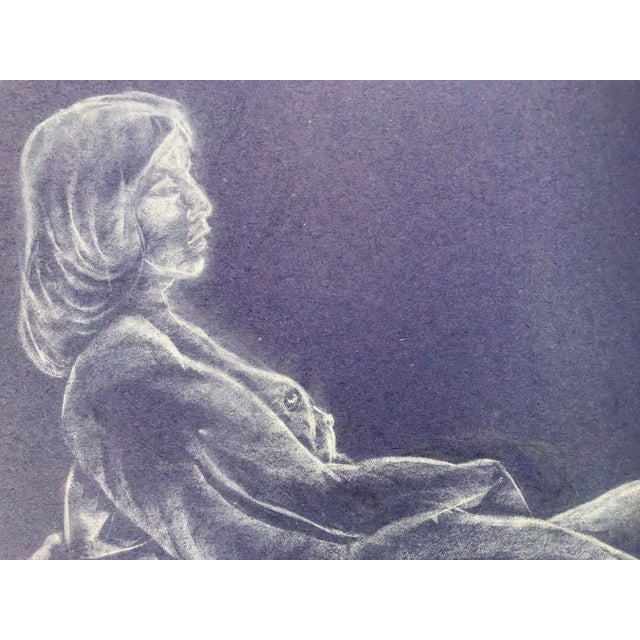 1960s Vintage Nude Figure Study For Sale - Image 5 of 6