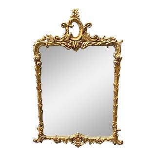 Vintage Gilt Florentine Mirror