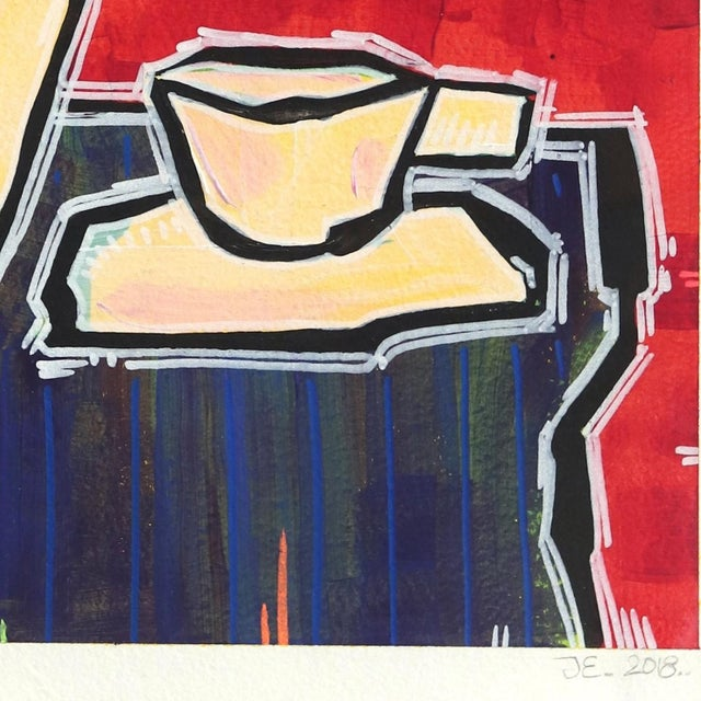 "2010s ""No Surprises"" Original Artwork by Jonjo Elliott For Sale - Image 5 of 6"