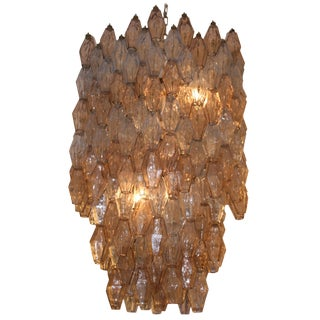 Large Hexagonal Poliedri Ceiling Light