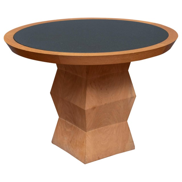 Christian Liaigre Yquem Pedestal Table For Sale - Image 9 of 9