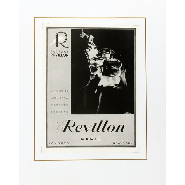 Antique 1936 French Perfume Print - Image 3 of 3