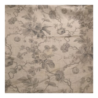Boho Chic Château De Grancey by Brunschwig & Fils Linen Fabric For Sale
