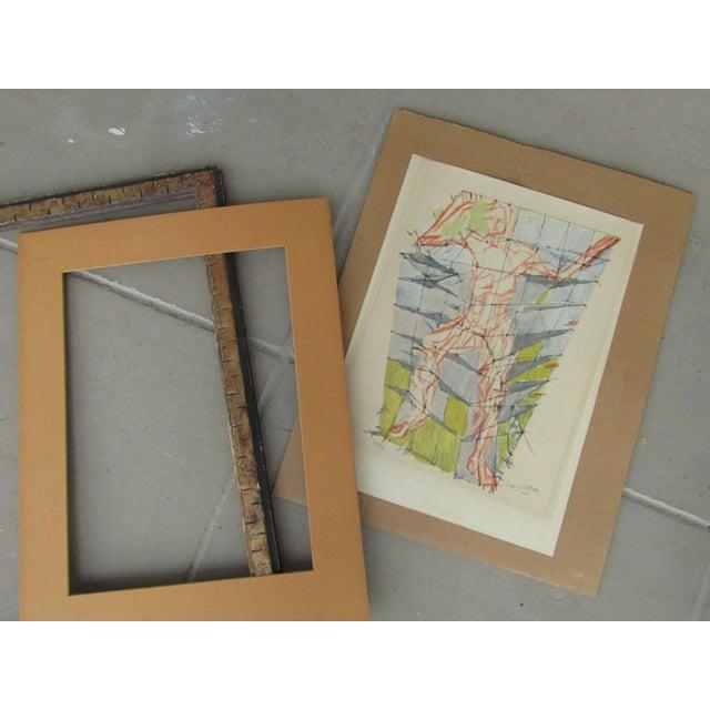 Jacques Villon Original Signed & Number Villon Cubist Lithograph For Sale - Image 5 of 5