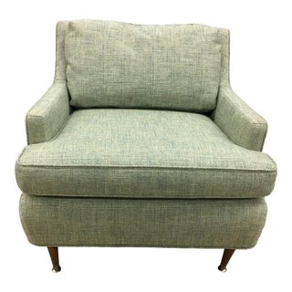 Danish Modern Armchair or Lounge Chair, New Upholstery For Sale