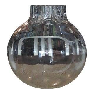 """1970s Vintage Barbini Murano Glass """"Quattro Fori"""" Vase For Sale"""