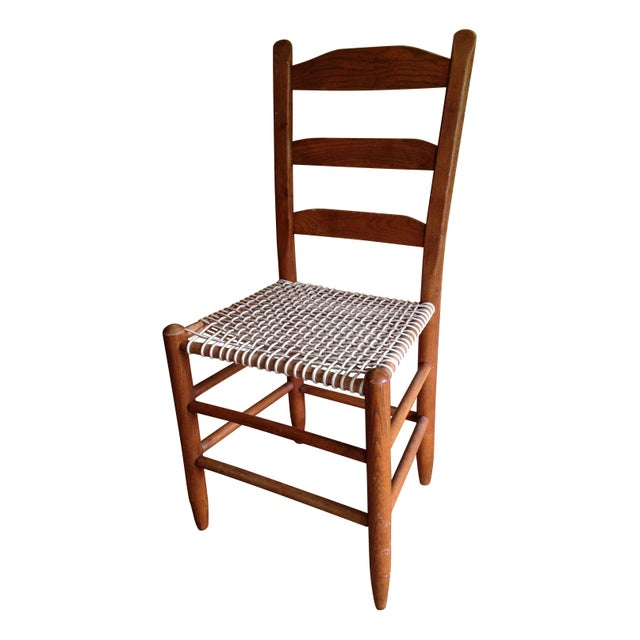 Antique Wooden Chair with Woven Seat For Sale - Antique Wooden Chair With Woven Seat Chairish