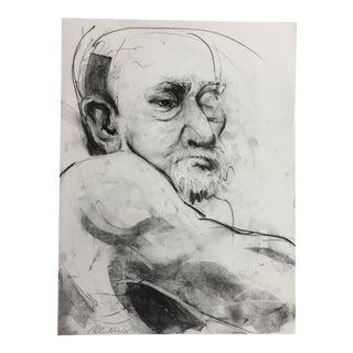 Rolando Rosler Black and White Portrait #1 For Sale