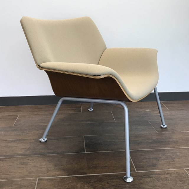 Awesome Herman Miller Womb Chair with chrome legs. Classic design. So comfortable. The Womb Chair is one of the most...