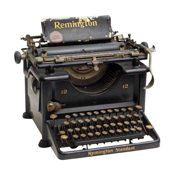 Remington Standard Typewriting Machine - Image 1 of 9