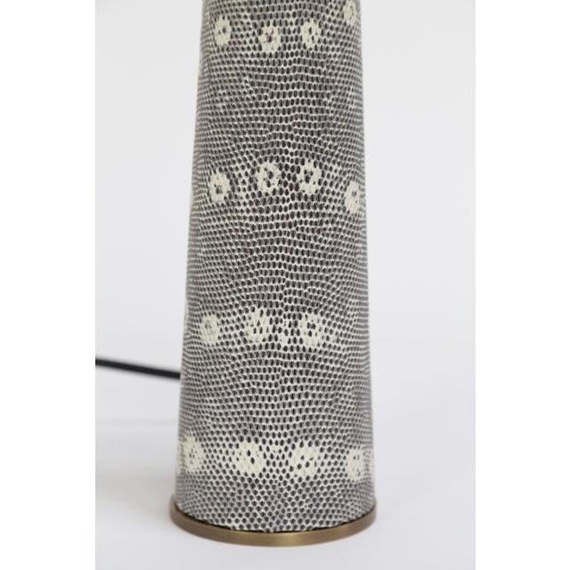 2000s Lizard Skin Borrego Lamp For Sale - Image 5 of 7