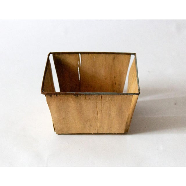 1950s Boho Chic Metal Berry Baskets - Set of 3 For Sale - Image 4 of 10
