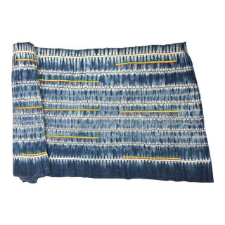 Hand Woven Indigo Batik Textile
