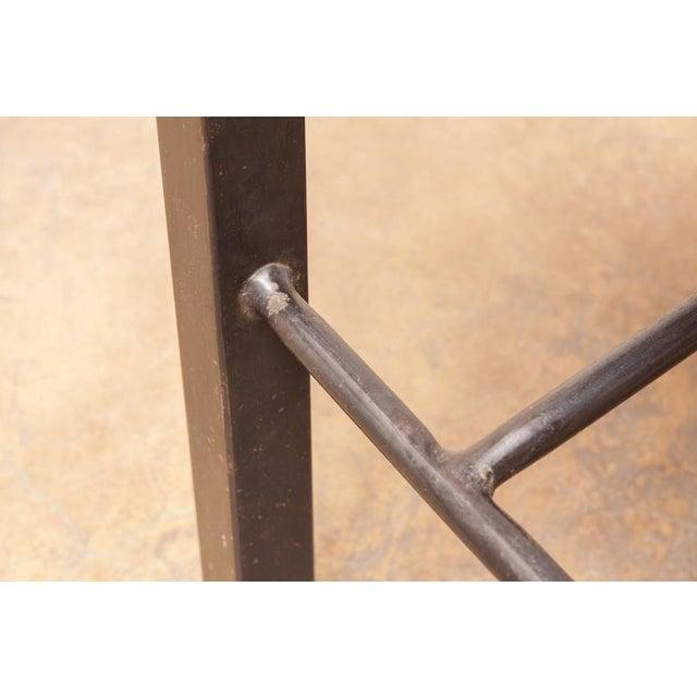 Modern Industrial Steel Desk Work Table For Sale In Sacramento - Image 6 of 9