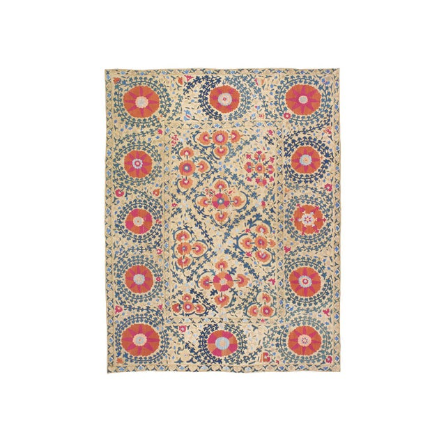 """Antique """"Suzani"""" (Dk-110-38) For Sale - Image 9 of 9"""