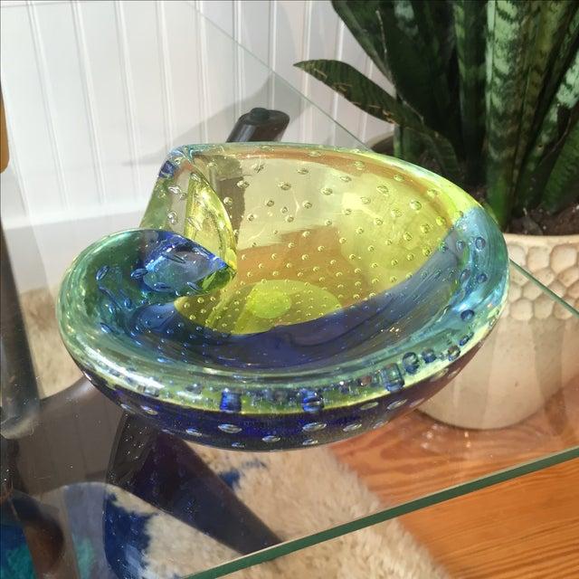 1960s Venini Murano Art Glass Ash Tray - Image 2 of 8