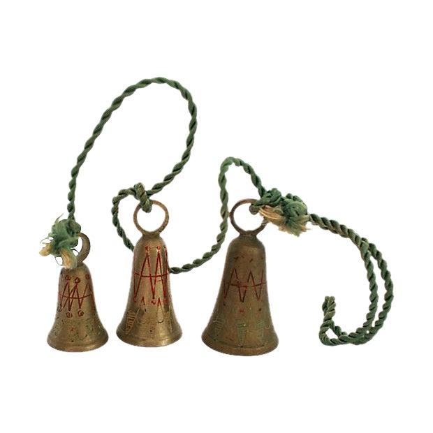 "1950s Brass ""Bells of Sarna India"" - Image 1 of 3"
