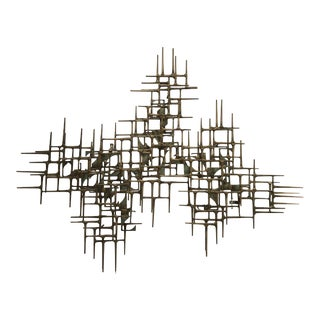 Max Levine Wall Sculpture, 1977 For Sale