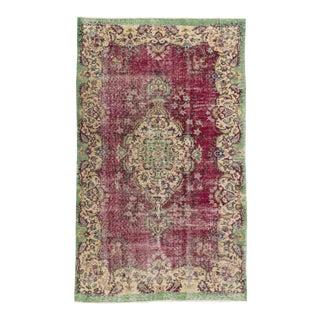 "Anadol Vintage Turkish Rug, 5'3"" x 6'9"""