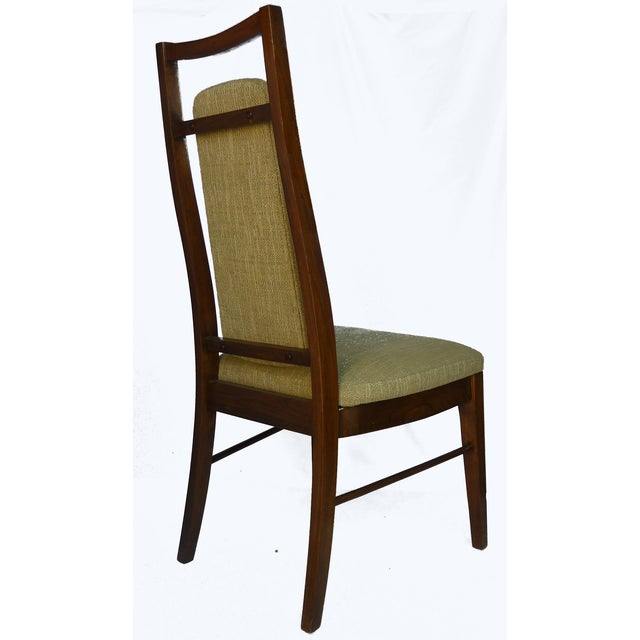 1960's Dining Room Chairs in Walnut - Set of 6 - Image 7 of 9