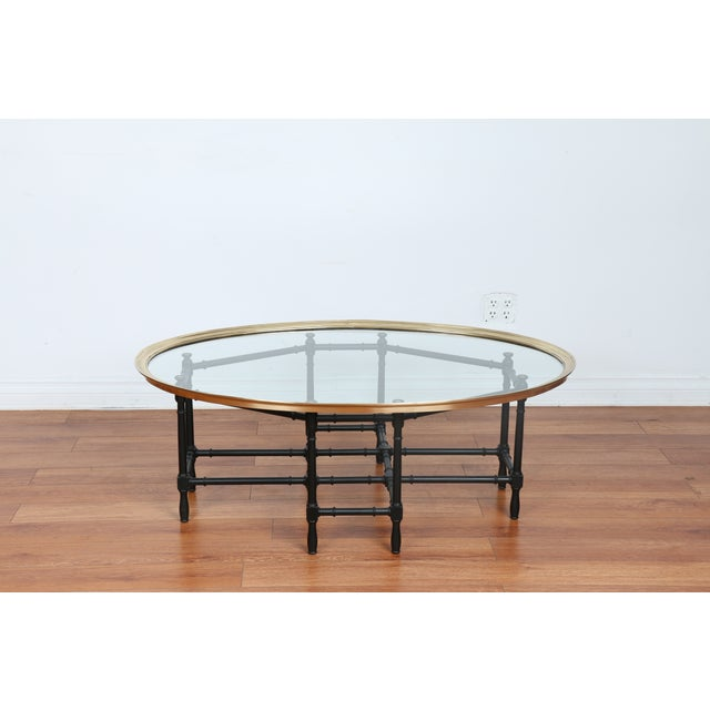 Bamboo Base Coffee Table - Image 10 of 10