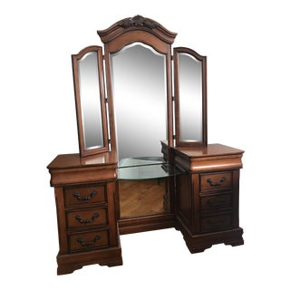 Antique-Inspired Vanity For Sale