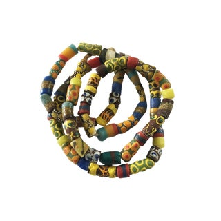 Millefiori African Trade Beads For Sale