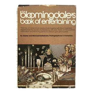 "1976 ""Bloomingdales Book of Entertaining"" First Edition Book For Sale"