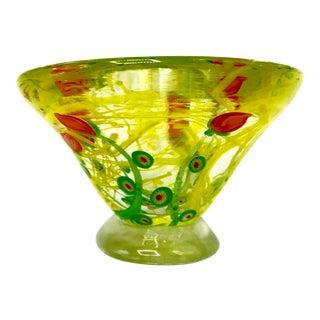 Vintage Murano Millefiori Bowl